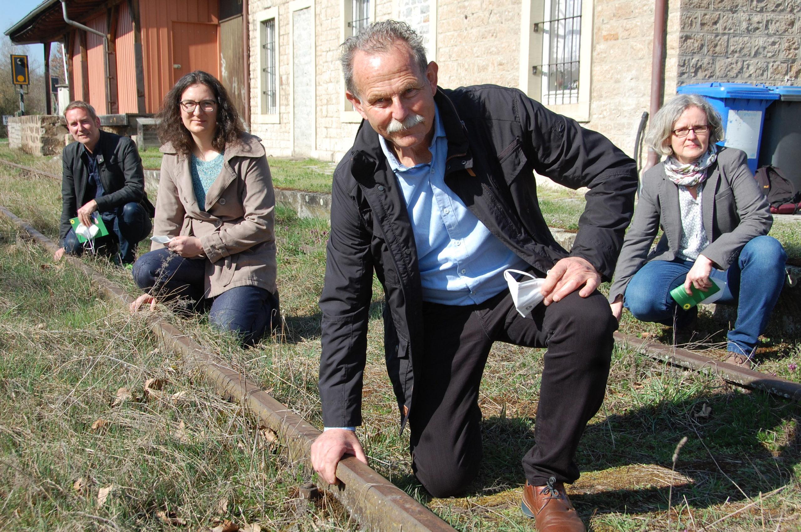 GRÜNE kämpfen weiter für die Steigerwaldbahn
